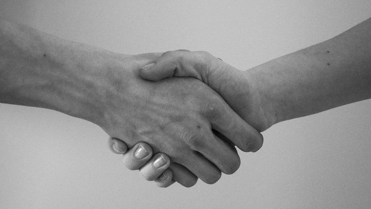 握手のイメージ