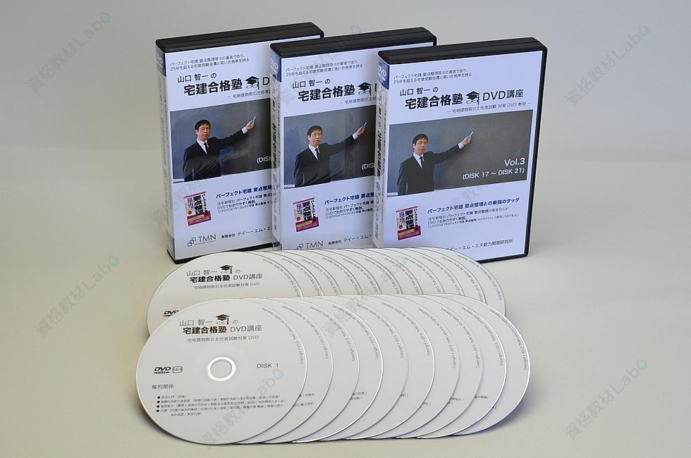 山口智一の宅建合格塾 DVD講座 制作